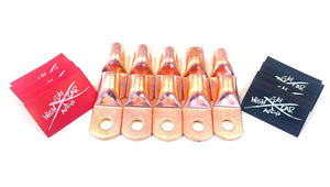 SKY HIGH CAR AUDIO COPPER RING TERMINALS - 10PACK