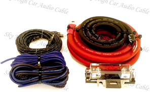 SKY HIGH CAR AUDIO AMP KITS