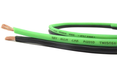 SKY HIGH CAR AUDIO 16 GAUGE SPEAKER WIRE 100FT
