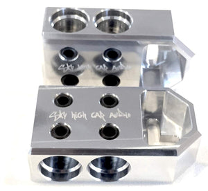 SKY HIGH CAR AUDIO 4 - 1/0 OR 2/0 BATTERY TERMINALS