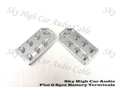 SKY HIGH CAR AUDIO 6 FLAT BATTERY TERMINAL