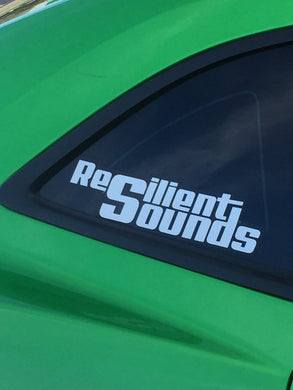 RS WINDOW DECAL