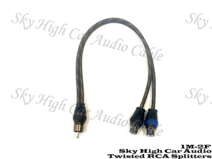 SKY HIGH CAR AUDIO TWISTED Y SPLITTER