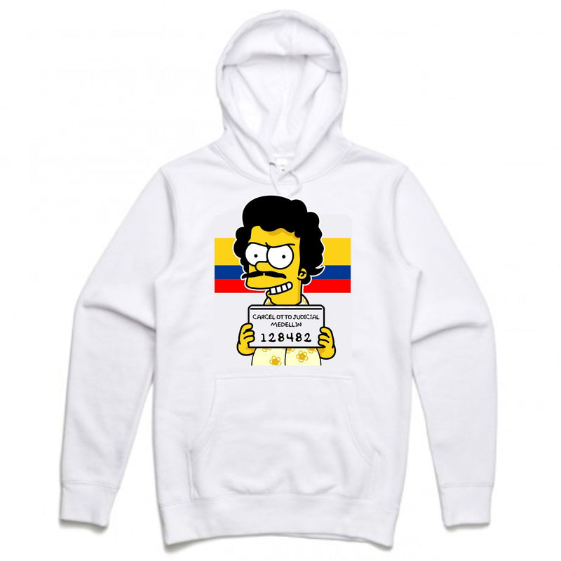 Esco Bart White Hoodie (Bootleg Collection)