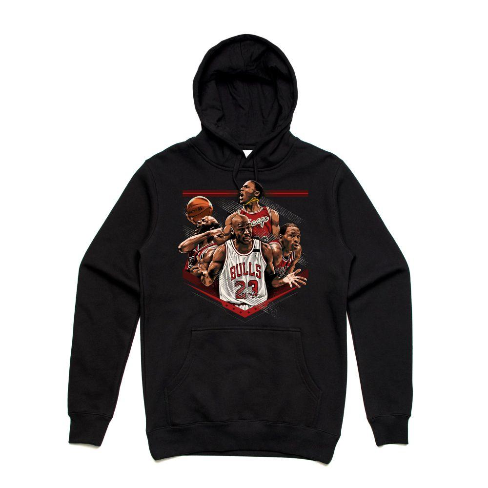 MJ Black Hoodie (Tribute Collection)