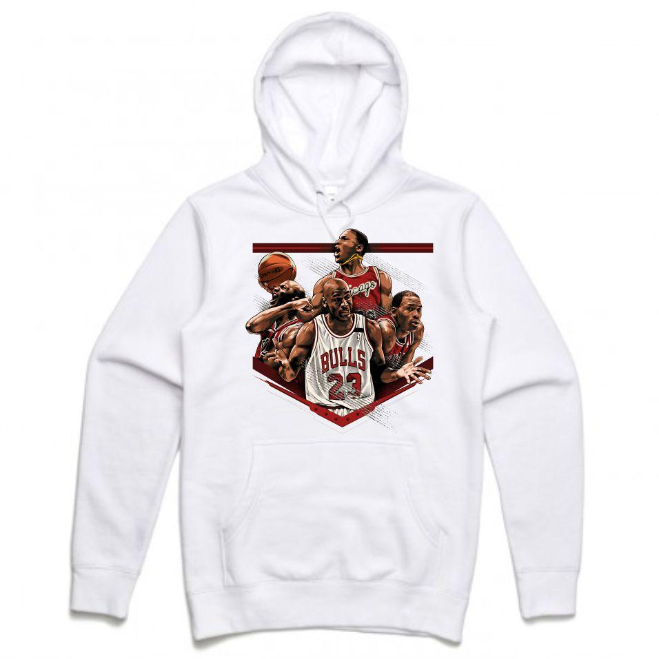 MJ White Hoodie (Tribute Collection)