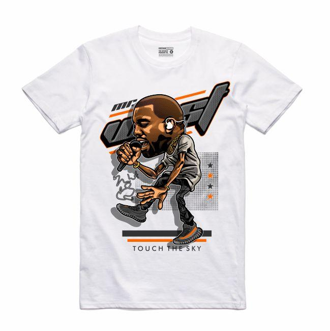 YZY White T-Shirt (Caricature Collection)