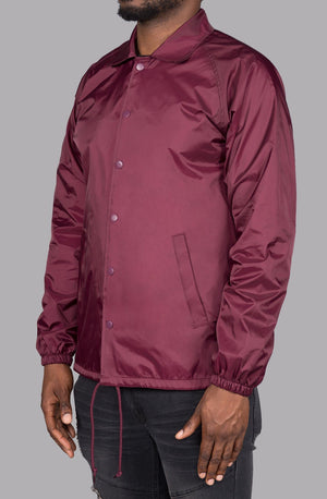 Phil Coaches Jacket (Maroon)