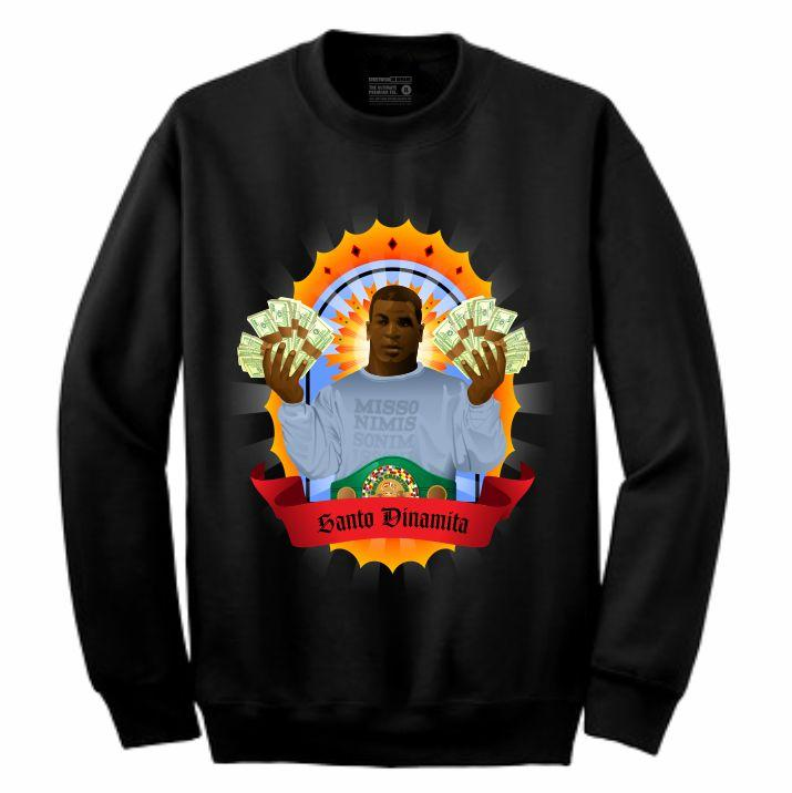 Iron Mike Black Crewneck (Veladora Collection)