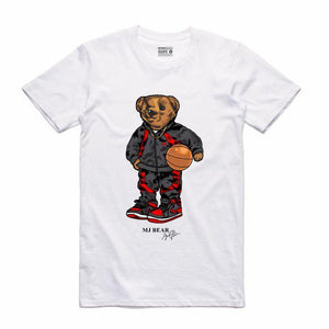 MJ White T-Shirt (Bear Collection)
