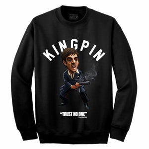 Scarface Black Crewneck (Toons Collection)