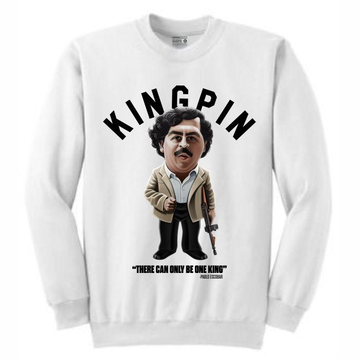 Pablo White Crewneck (Toons Collection)