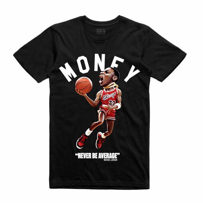 MJ Black T-Shirt (Toons Collection)