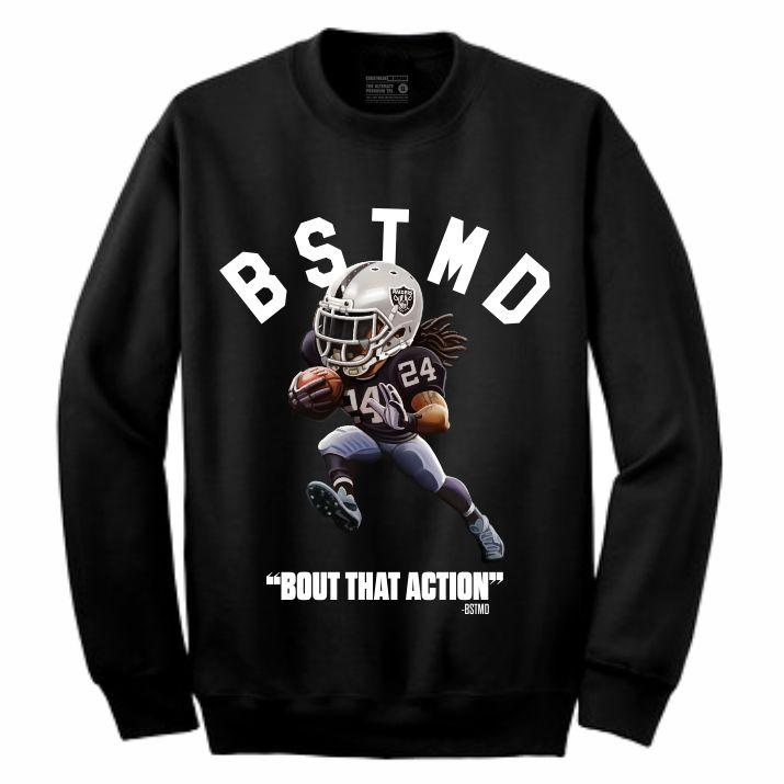 Beastmode Black Crewneck (Toons Collection)