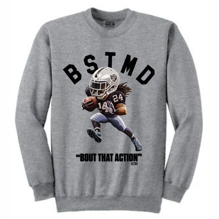 Beastmode Grey Crewneck (Toons Collection)
