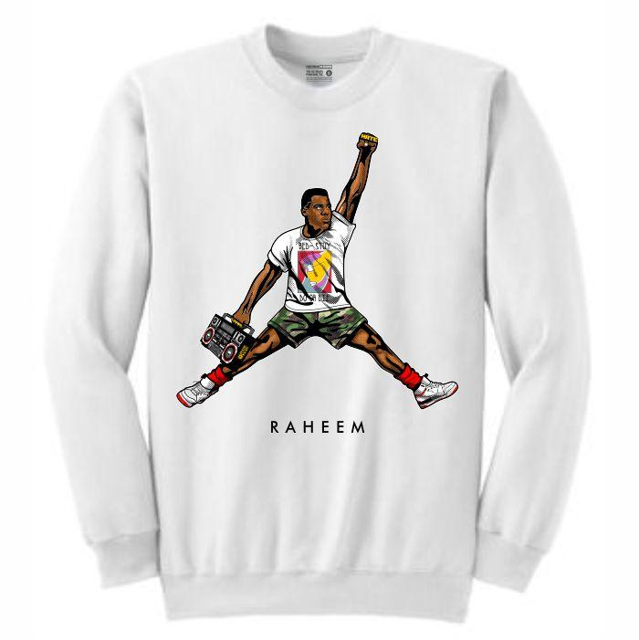 Raheem White Crewneck (JMPMN Collection)
