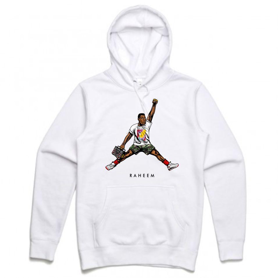 Raheem White Hoodie (JMPMN Collection)