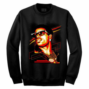 Primetime Black Crewneck (Rockstar Collection)