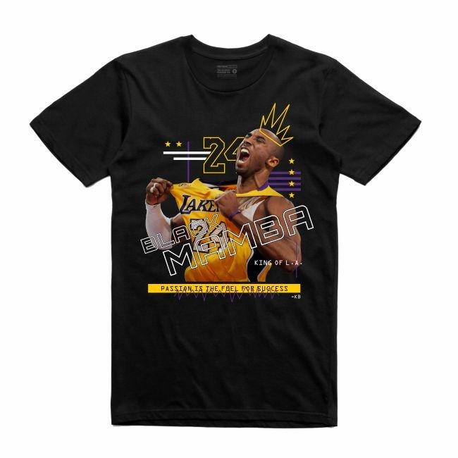 Mamba Black T-Shirt (Mixed Media Collection)