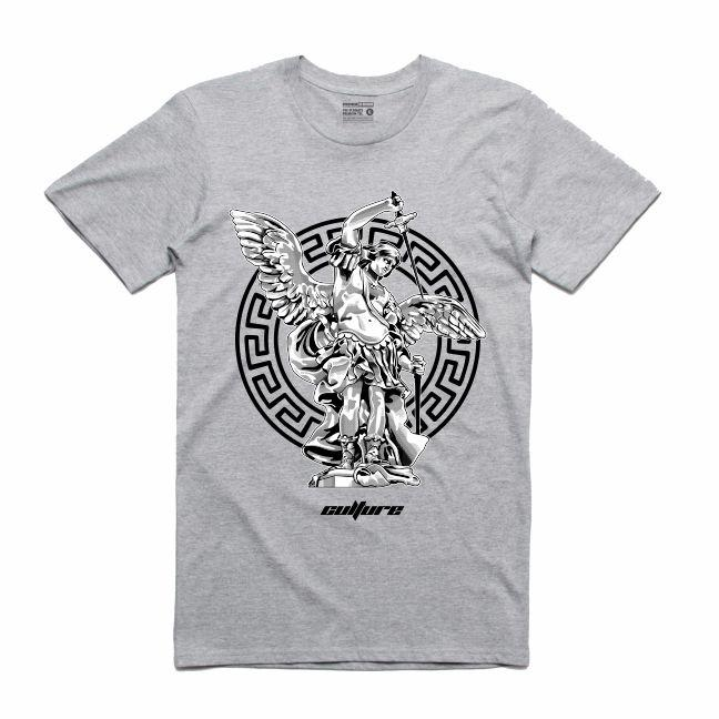 St.Michael Grey T-Shirt (Culture)