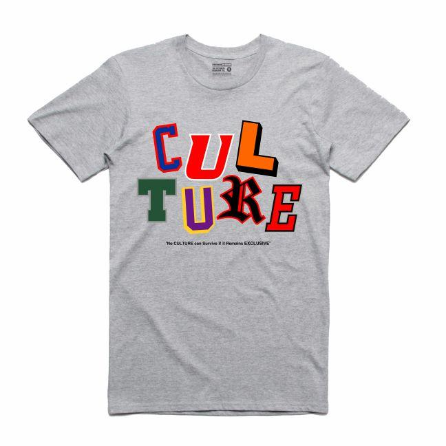 Letterman Grey T-Shirt (Culture)