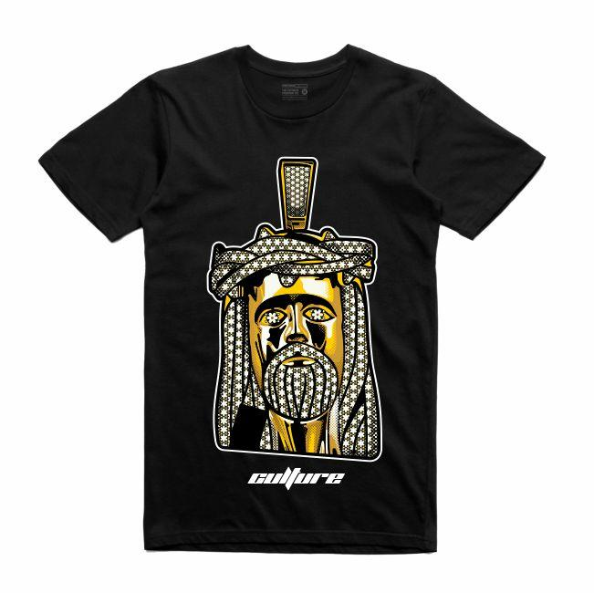 Jesus Black T-Shirt (Culture)