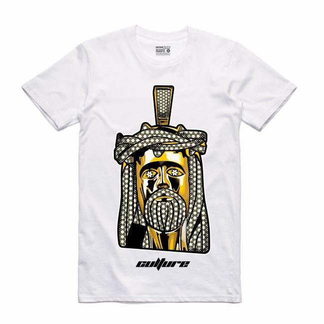 Jesus White T-Shirt (Culture)