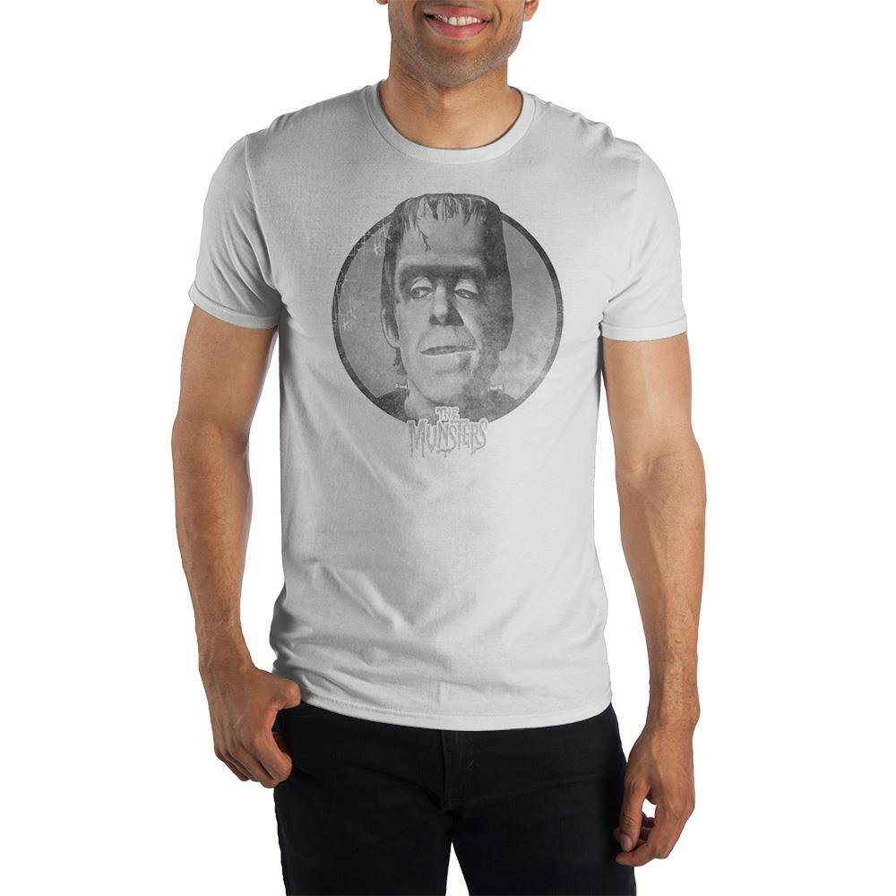 The Munsters Herman Crew Neck Short Sleeve T shirt