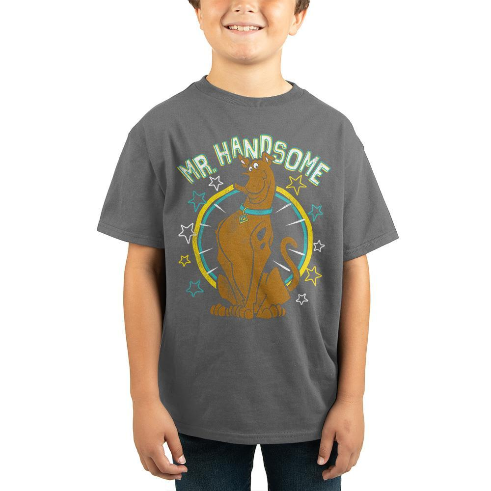 Boys Scooby Doo Shirt Youth Boys Mr. Handsome Shirt