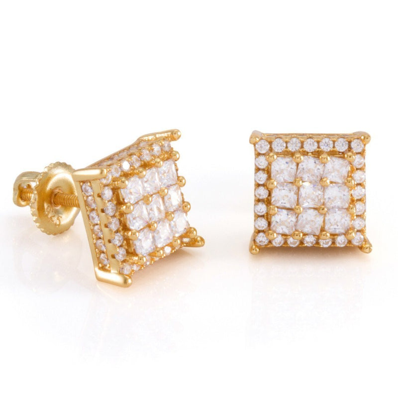 The 14K Gold Double Layered Earrings
