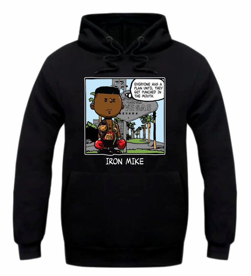 Iron Mike Black Hoodie (PNUTS Collection)