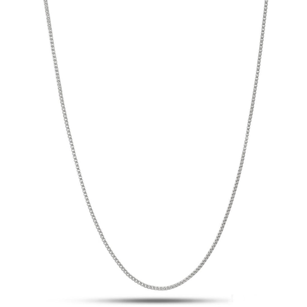 1mm .925 Sterling Silver Box Chain