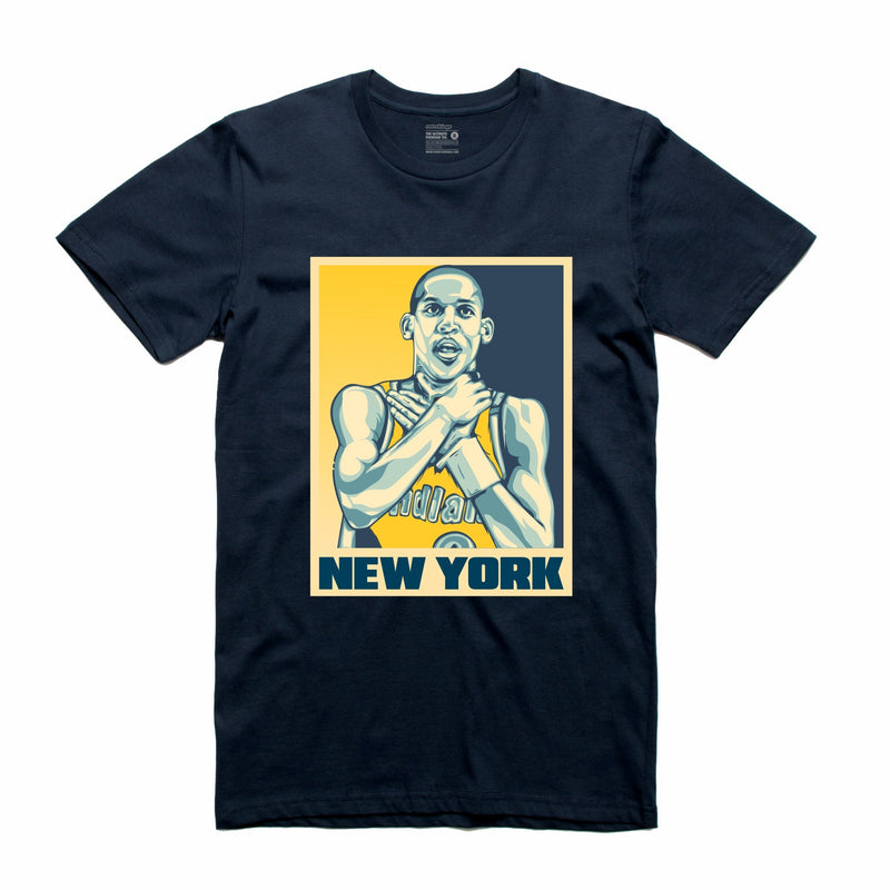 New York Navy T-Shirt (Stencil Collection)