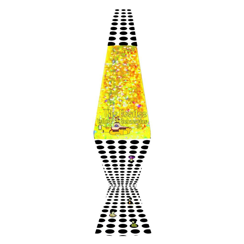 "YELLOW SUBMARINE 14.5"" LAVA LAMP"