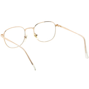 True Vintage Dapper Square Clear Lens Glasses C718
