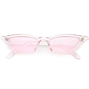 Women's Colorful Translucent Color Tone Lens Cat Eye Sunglasses C735