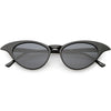 Women's Retro Low Pointed Cat Eye Sunglasses C737