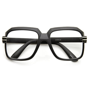 Old School Hip Hop Style Square Vintage Square Glasses 2981
