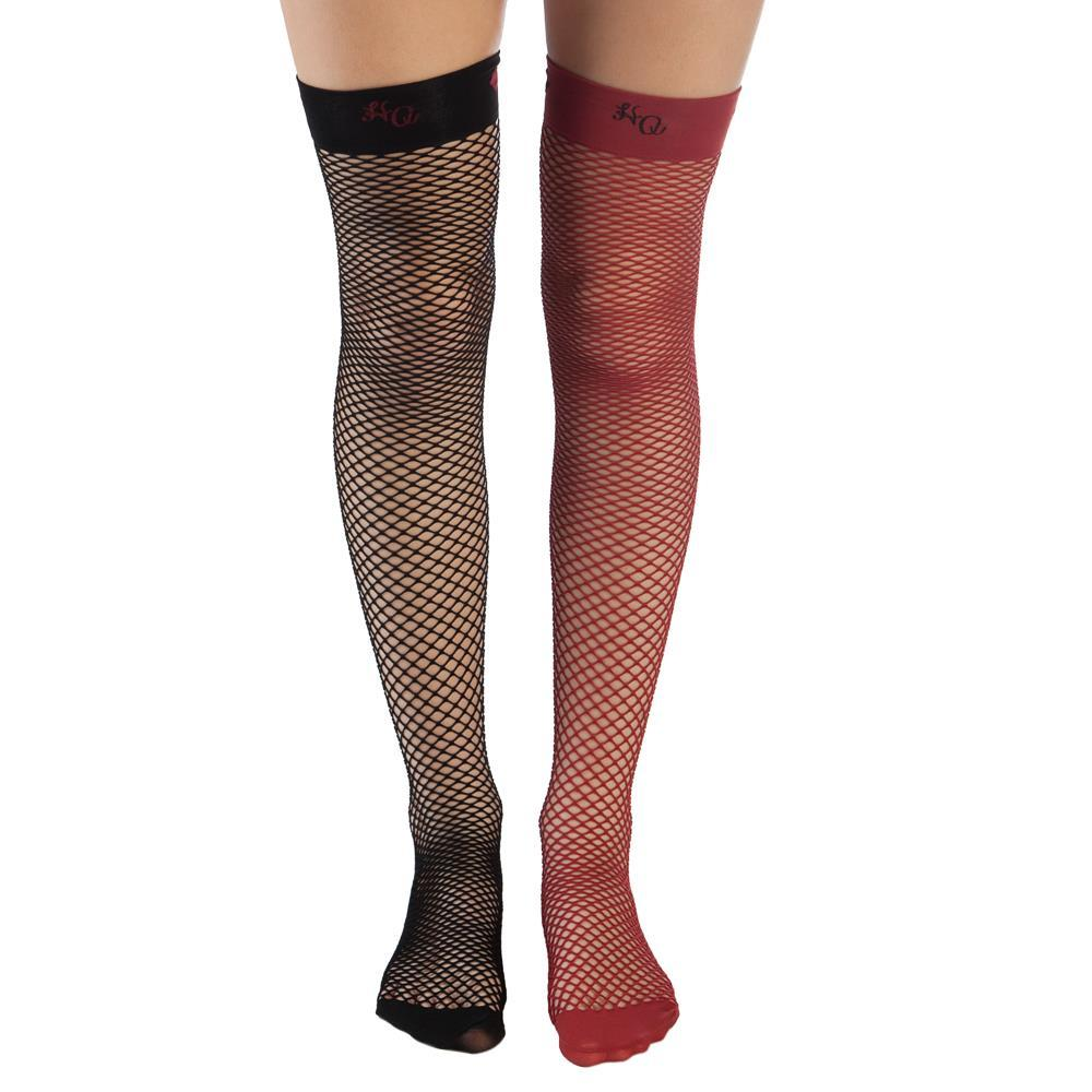 Harley Quinn Fishnet Stockings