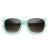 "Zerouv ""Harlow"" Oversize Translucent Horned Rim Womens Sunglasses"