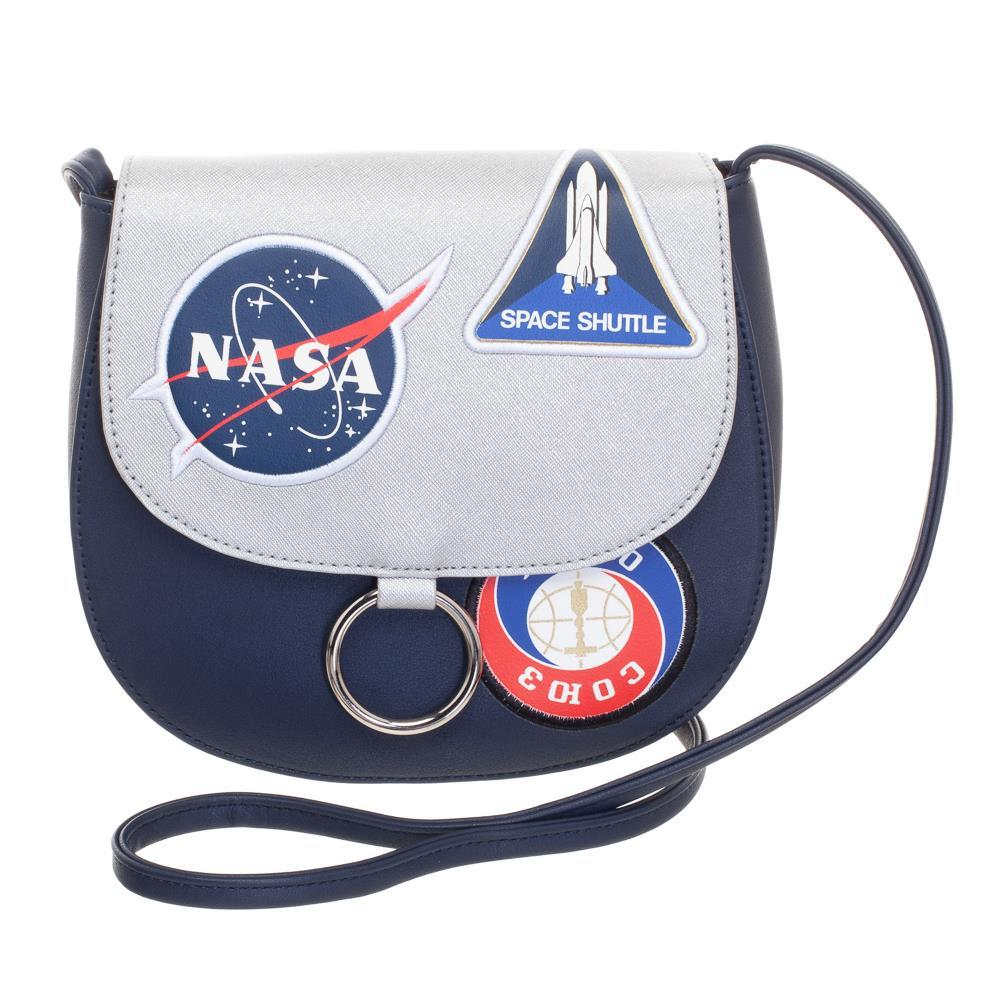 NASA Space Patch Saddlebag
