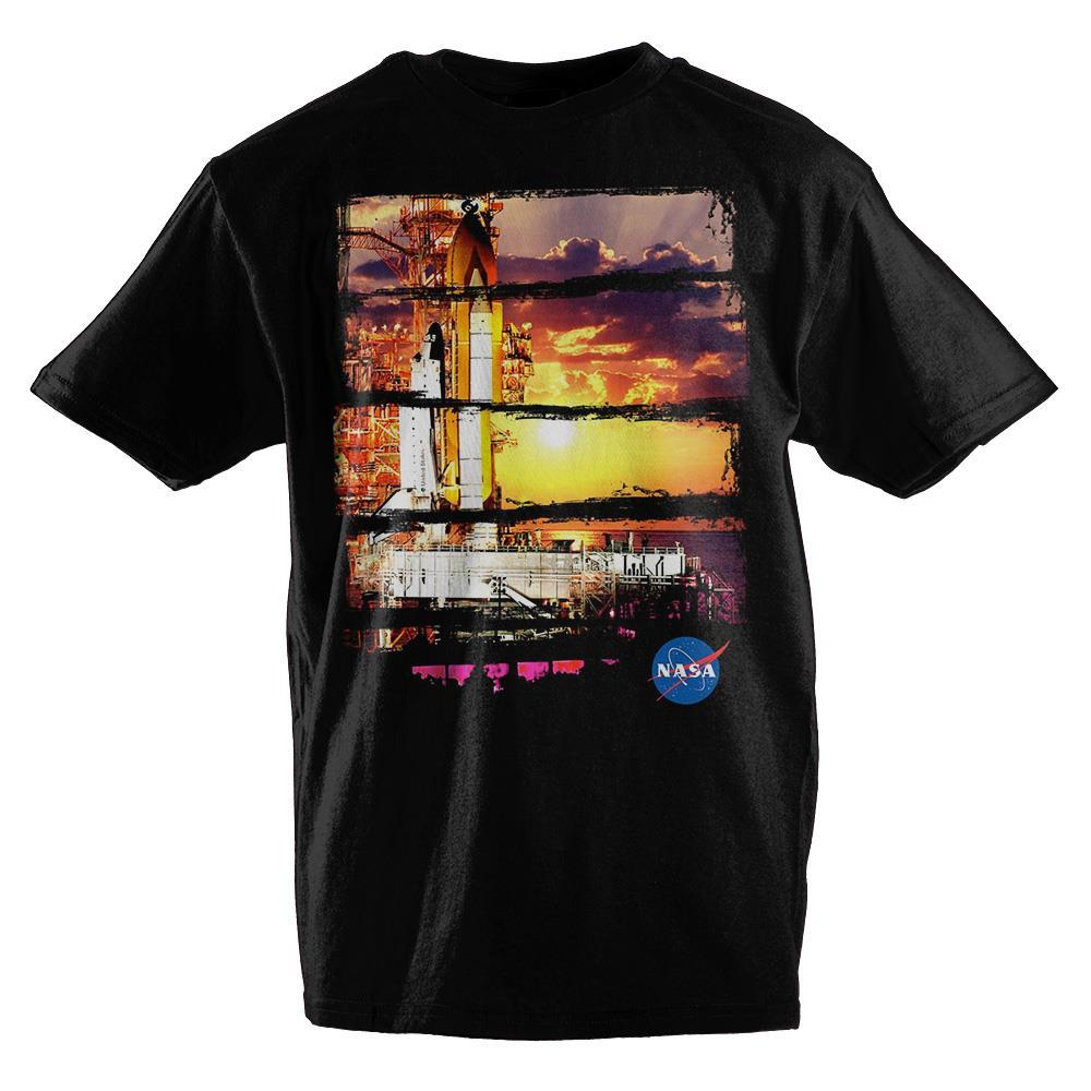 Boys Nasa Shirt Kids Apparel Youth Shuttle Launch TShirt