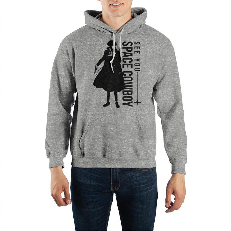 Cowboy Bebop ?See You Space Cowboy? Pullover Hooded Sweatshirt