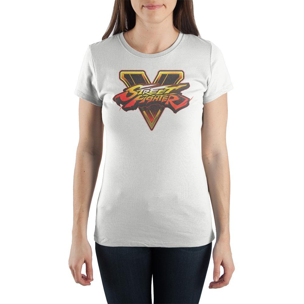 Street Fighter Retro Game TShirt Juniors Graphic Tee