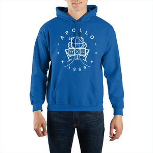 NASA Apollo 11 Pullover Hooded Sweatshirt