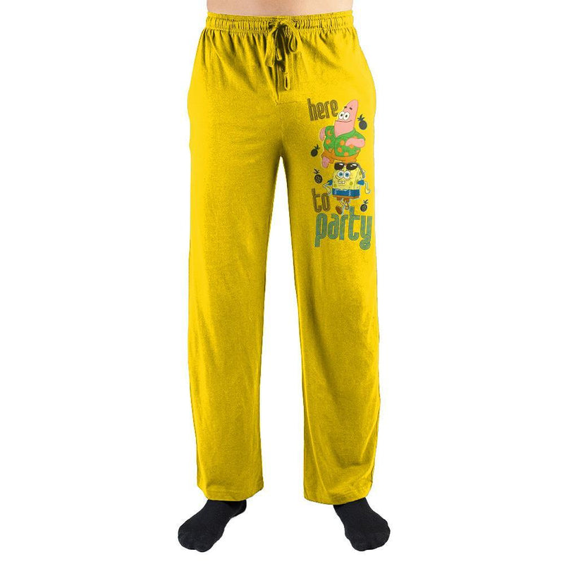 "SpongeBob SquarePants ""Here To Party"" Sleep Pants"