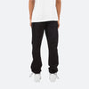 Baggy Track Sweatpants - Black