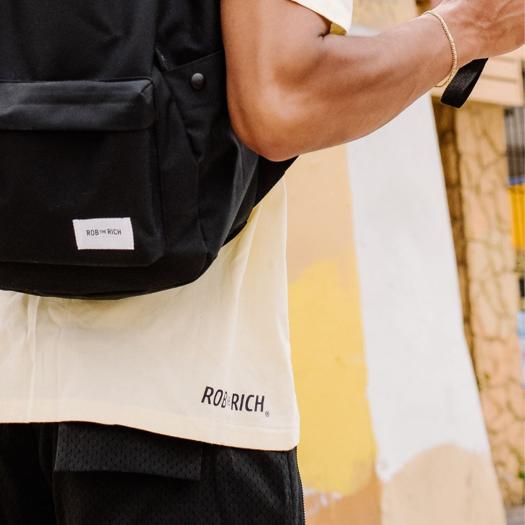 Back to Basics Tee - Lemon