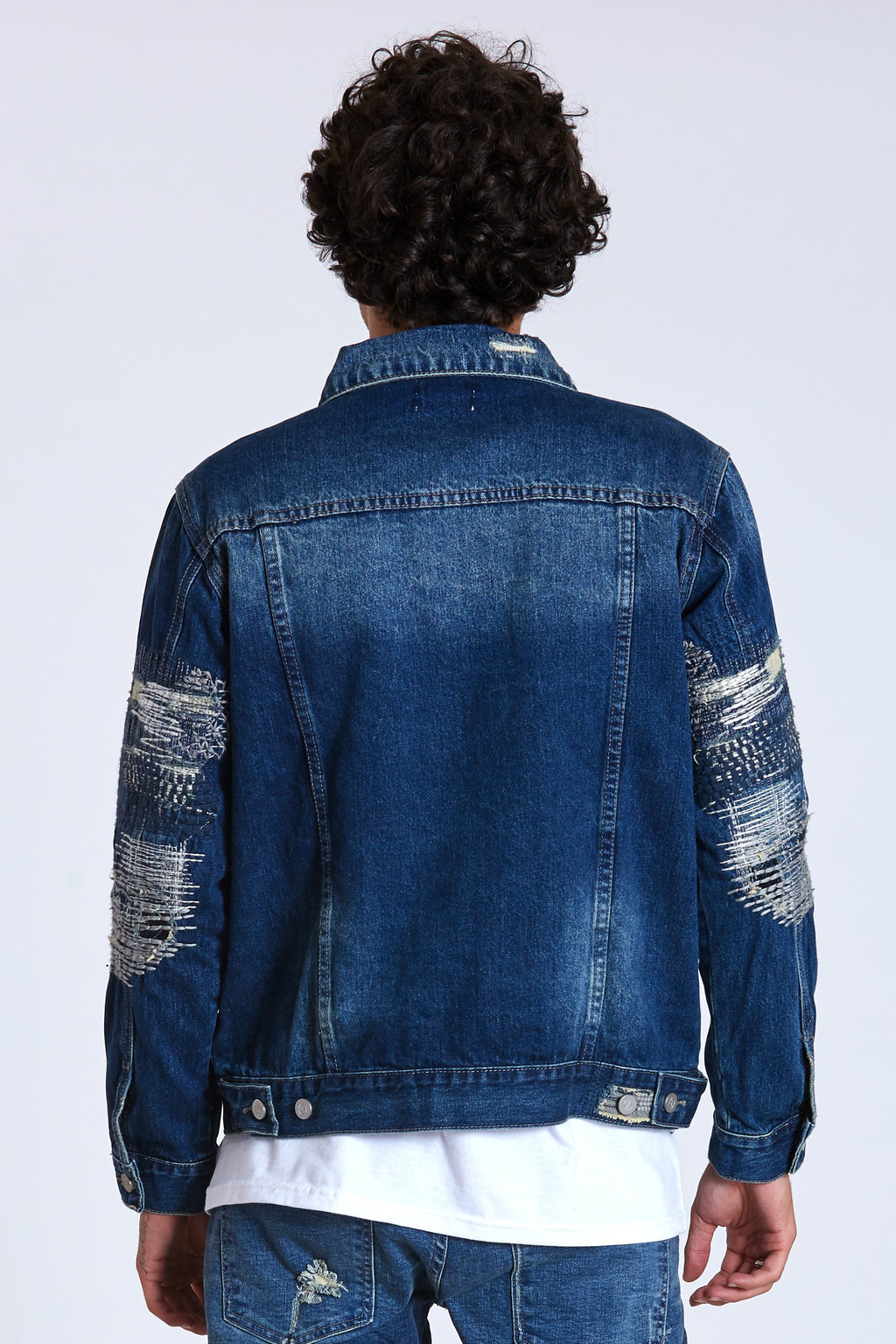 Boro Denim Trucker Jacket