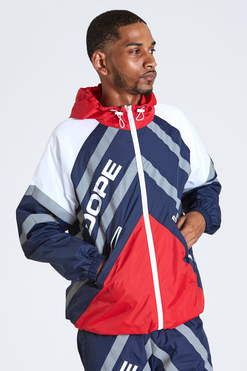 Wired Reflective Windbreaker